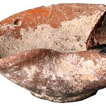 "<b>Oil Lamp</b><br/> Oil Lamp Ceramic, 1020-842 BCE Origin: unknown LFAC# 620<a href=""http://farm7.static.flickr.com/6118/6419588591_58d50a66dc_o.jpg"" title=""High res"">∝</a>"