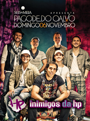 Flyer - Inimigos HP by chambe.com.br