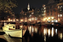 Amsterdam canal @ night (GSAndr) Tags: bridge holland tower church water netherlands amsterdam night lights restaurant boat canal nikon houseboat canals te keizersgracht amstel herengracht boekhorst doublyniceshot doubleniceshot tripleniceshot mygearandme mygearandmepremium gsandr mygearandmebronze mygearandmesilver mygearandmegoldselection mygearandmebronzeselection mygearandmesilverselection mygearandmegold ringexcellence dblringexcellence tplringexcellence artistoftheyearlevel3 musictomyeyeslevel1 eltringexcellence 4timesasnice