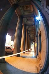 20111005Tainan02 (elf0724) Tags: history architecture night canon asia taiwan historic fisheye nightscene tainan  16mm zenitar     historicsite landbank   zenitar16mmf28fisheye 5dmarkii 5dii