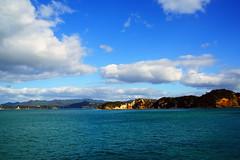 DSC01574 (Jessie K Smith) Tags: ocean trip newzealand vacation sky holiday nature beautiful landscape islands bay scenery tour dolphin dolphins nz maori bayofislands kiwi pahia