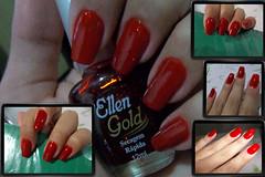 Garota Vero da Colorama e Lidiane da Ellen Gold (deharaujo) Tags: gold ellen vermelho garota vero brilho colorama