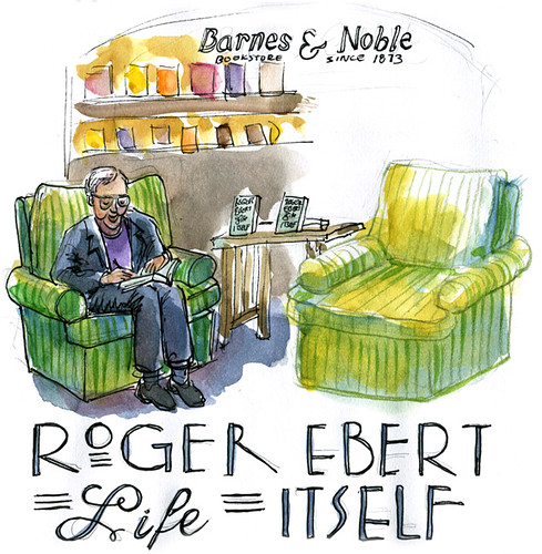Roger Ebert Signing Books at Barnes & Noble