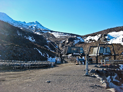 Mount Ruapehu Chairlift