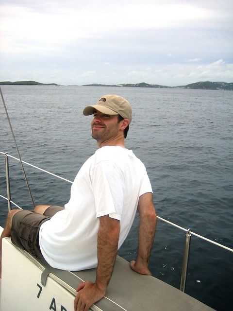 tay on catamaran