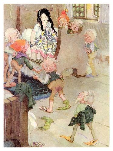003-Cuentos de Grimms-Blancanieves- Anne Anderson