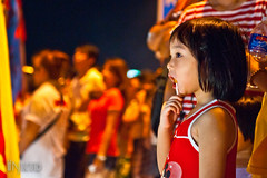 DSC08187 (inkid) Tags: ex festival children candid sony nine sigma iso gods 3200 f28 emperor dg 爺 2470mm 九 皇 dslra900