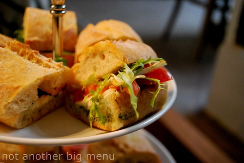 Bea's of Bloomsbury - Full Afternoon Tea £15 pperson - Sandwich selection