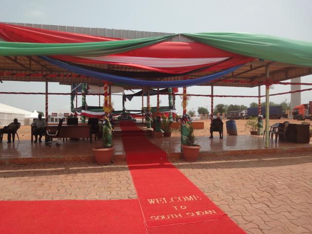 Mausoléu Dr. John Garang de Mabior em Juba Sudão do Sul