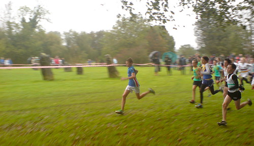 U13 U13 Boys cross country race, Newbridge Fields, Bridgend