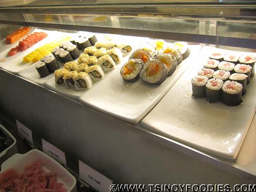 marriott cafe sushi