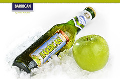 your   (Fahad Al-Robah) Tags: green ice apple beer bottle sponsored barbican