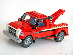 wrecker (NKubate) Tags: lego pickup creator towtruck alternate wrecker 5867