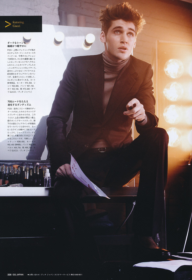 GQ Japan102_2011_11_509Isaac Carew