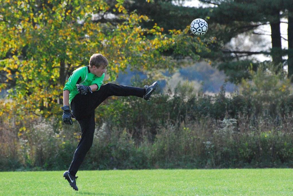 Goalie Punt