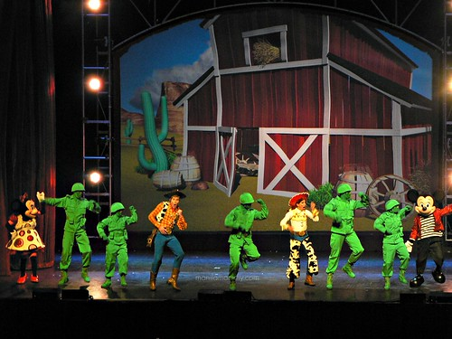 toy story live at disney live