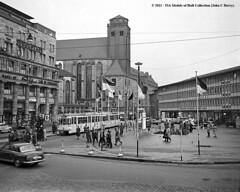 28/10/1956 - Cologne (Kln), West Germany. (53A Models) Tags: cologne tram kln westgermany
