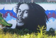 Street Art: Dreadlocks (roger.w800) Tags: italy streetart milan art wall dreadlocks painting graffiti italia milano jamaica reggae jamaican bobmarley rastafarian nerviano aperturewoolwich