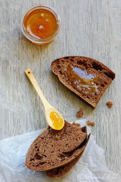 Cocoa and honey sourdough bread for the WBD