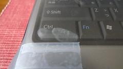 ctrl部分の汚れ