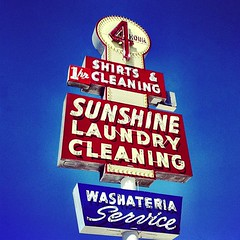 Sunshine Laundry vintage neon sign in Dallas, Texas (mollyblock) Tags: signs sunshine sign vintage square dallas neon texas laundry squareformat signage neonsign neonsigns vintagesign amaro vintagesigns iphoneography mollyblock instagramapp uploaded:by=instagram foursquare:venue=4b034c91f964a520634e22e3