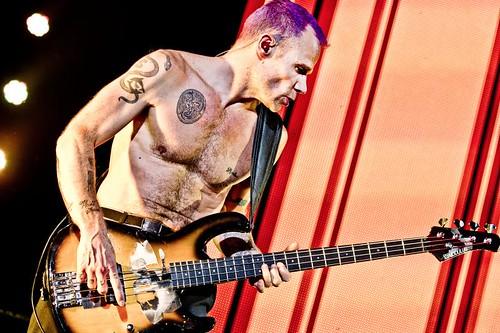 Red Hot Chili Peppers Ahoy mashup foto - Strak lichaam voor een bijna vijftiger