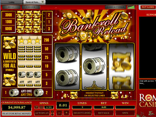 Bankroll Reload 3 Lines slot game online review