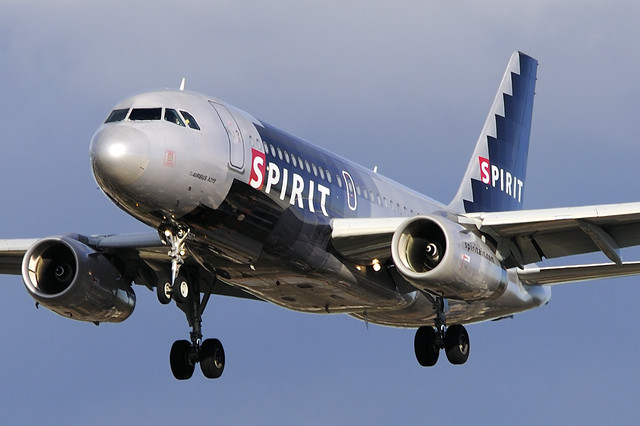 Spirit Airlines Airbus A319-132 (N507NK)