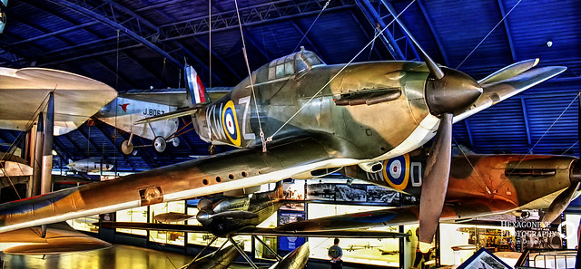Hurricane I – L1592 KW-Z - in 615 Sqn. Colours - London Science Museum