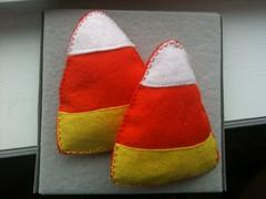 Iron Craft - Plushie Candy Corn