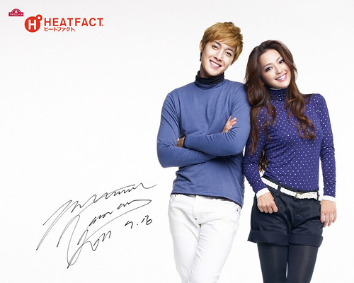 Kim Hyun Joong HEATFACT Wallpaper [111019]