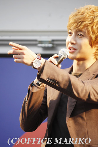 Kim Hyun Joong Korean Fair Event in Japan [111015 ]