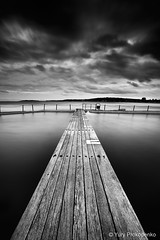 Narrabeen Pool B&W (-yury-) Tags: ocean sea blackandwhite bw seascape beach pool landscape sydney australia nsw narrabeen