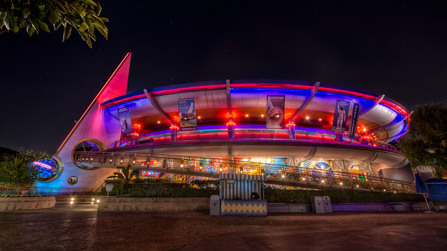 california park pink blue light red color home night canon dark technology disneyland disney theme nik hdr automation attraction innoventions automate photomatix colorefex canon60d