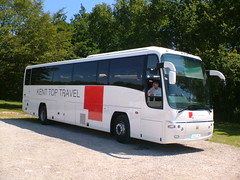Kent Top Travel YN06OPU (Invictaway) Tags: volvo kent coach coaches psv pcv ktt plaxton kenttoptravel