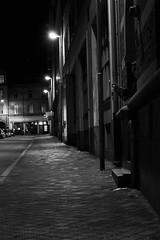 [In the dark] (Johan Larkander) Tags: street man night canon dark person eos skne sweden spy gata sverige natt helsingborg spion mrk 400d fotosondag fotosndag johanlarkander fs111023