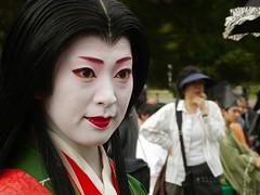Sonoe (Rishasoul) Tags: japan kyoto maiko geiko gion jidai jidaimatsuri2011