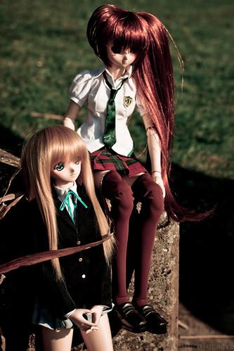 Shizuko and Nanoha
