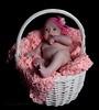 Judit en rosa (60º EXPLORE - 25-10-2011) (Jose Casielles) Tags: color luz estudio niña bebé judit yecla cesta sesióndeestudio fotografíasjcasielles