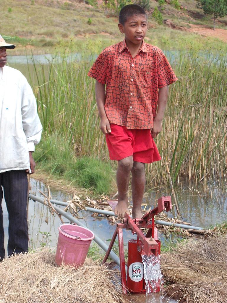 Enfant et Irrigation