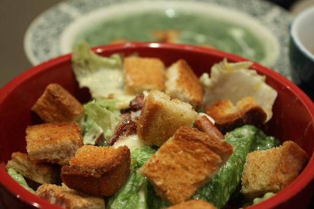 aaron's caeser salad