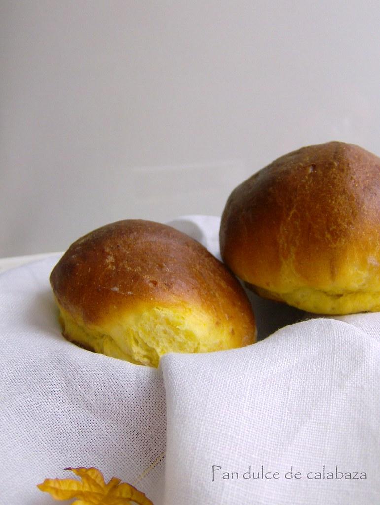 Pan dulce de calabaza