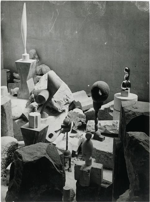 Vue d'ensemble de l'atelier 1923-24