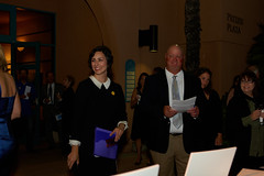 Melanie Robins and Gary Schneider