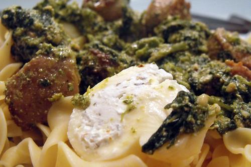 Pasta Closeup