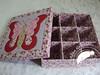 Patch embutido Borboleta (Line Artesanatos) Tags: encomendas caixasforradas patchworkembutido