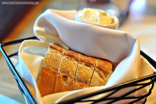 Basket of Bread at The Hanger Room ~ Willernie, MN