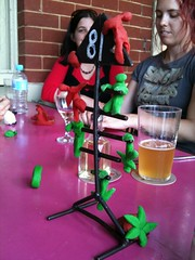 Creativity at the WAWG lunch (Figgles1) Tags: sculpture play dough fremantle playdough iphone clancys img1850