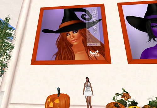 Orange Witch skin - Oceane Body Design, 250 lindens by Cherokeeh Asteria