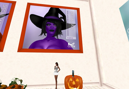 Purple Witch skin - Oceane Body Design, 250 lindens by Cherokeeh Asteria